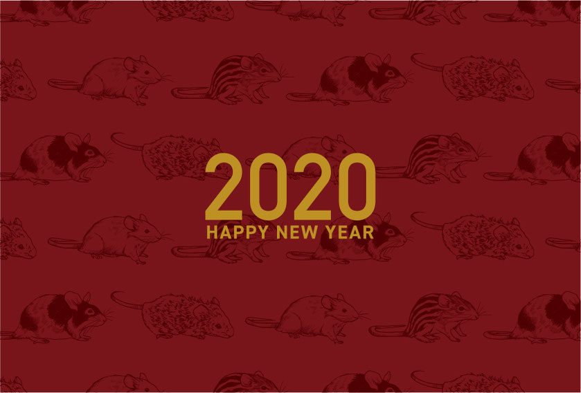 AMMODO 2020 NEW YEAR CARD