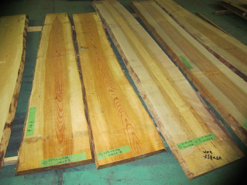 採用する木材を確認します