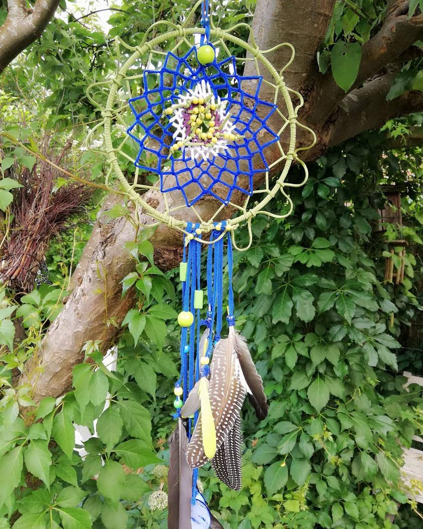 Passiebloem Dromenvanger blauw