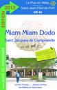 logo miam miam dodo, référence tous les hébergements sur le chemin de compostelle