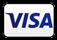 Das blaue Logo des Finanzdienstleisters VISA.