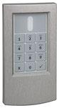 cryplock HF-Tastaturleser R/K-MD (Edelstahl gebürstet) von Telenot; presented by SafeTech