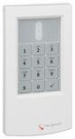 cryplock HF-Tastaturleser R/K-MD (RAL 9016 Verkehrsweiß) von Telenot; presented by SafeTech
