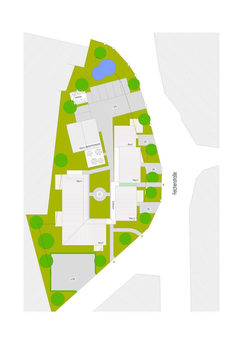 Lageplan Wohnanlage Kassel