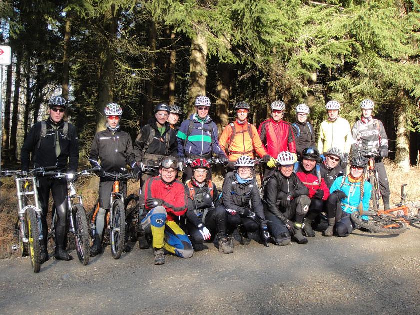 Jeden Samstag auf Tour: Die Brand-Riders