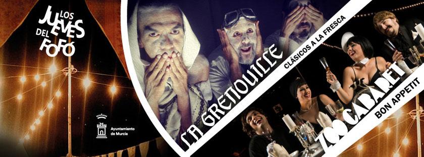 Los Jueves del Fofó con Zoo Cabaret y La Grenouille este verano