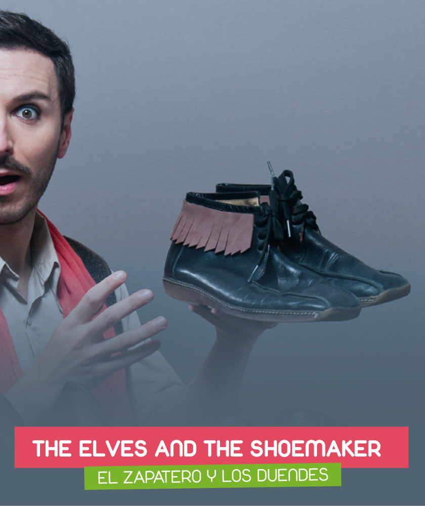 The elves and the shoemaker (El zapatero y los duendes) interpreted by Jon Mitó