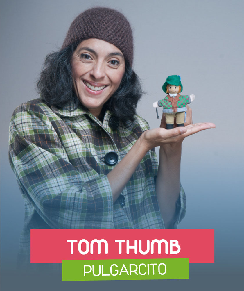Tom Thumb (Pulgarcito) interpreted by Andrea Pacheco