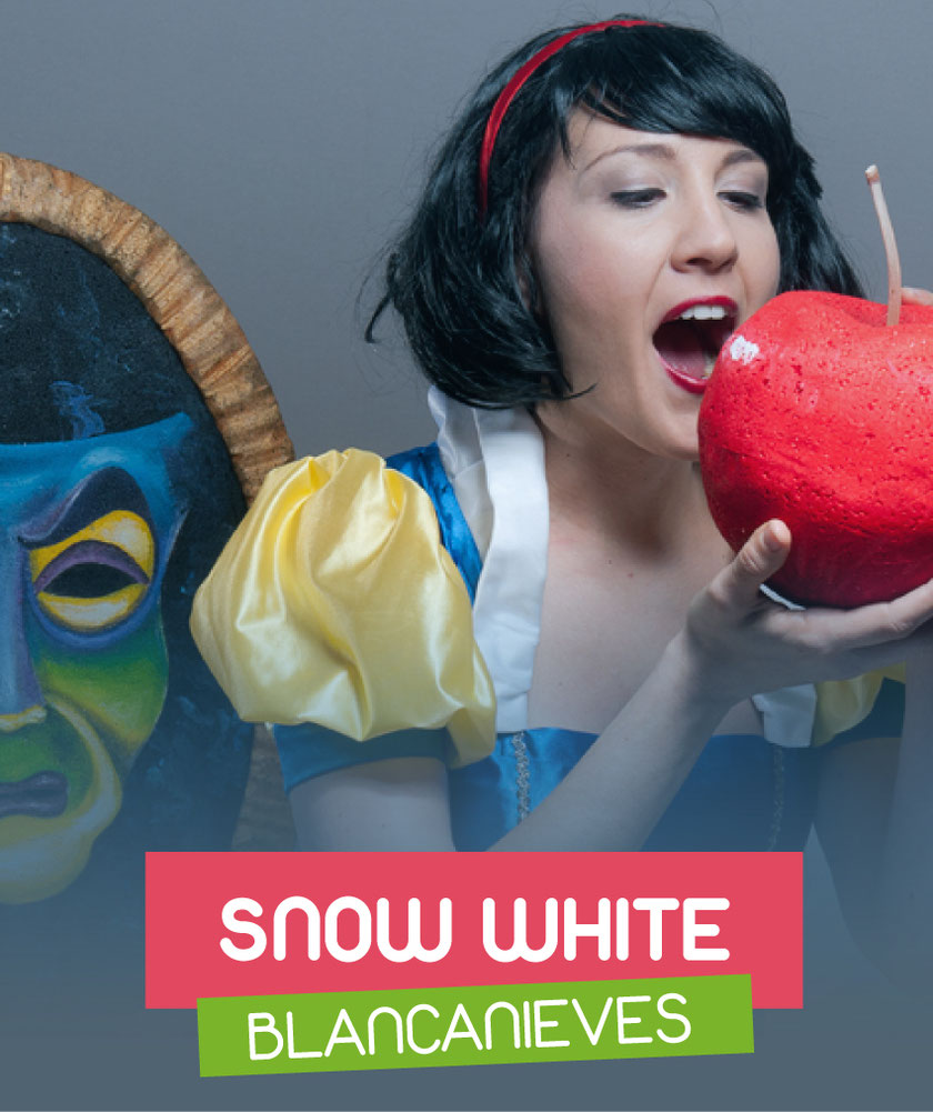 Snow White (Blancanieves) interpreted by Cristina Roma