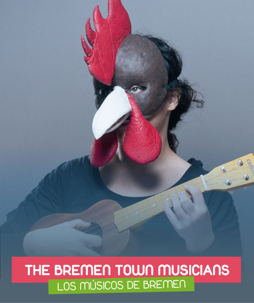 The Bremen town musicians (Los músicos de Bremen) interpreted by Elena Serrano