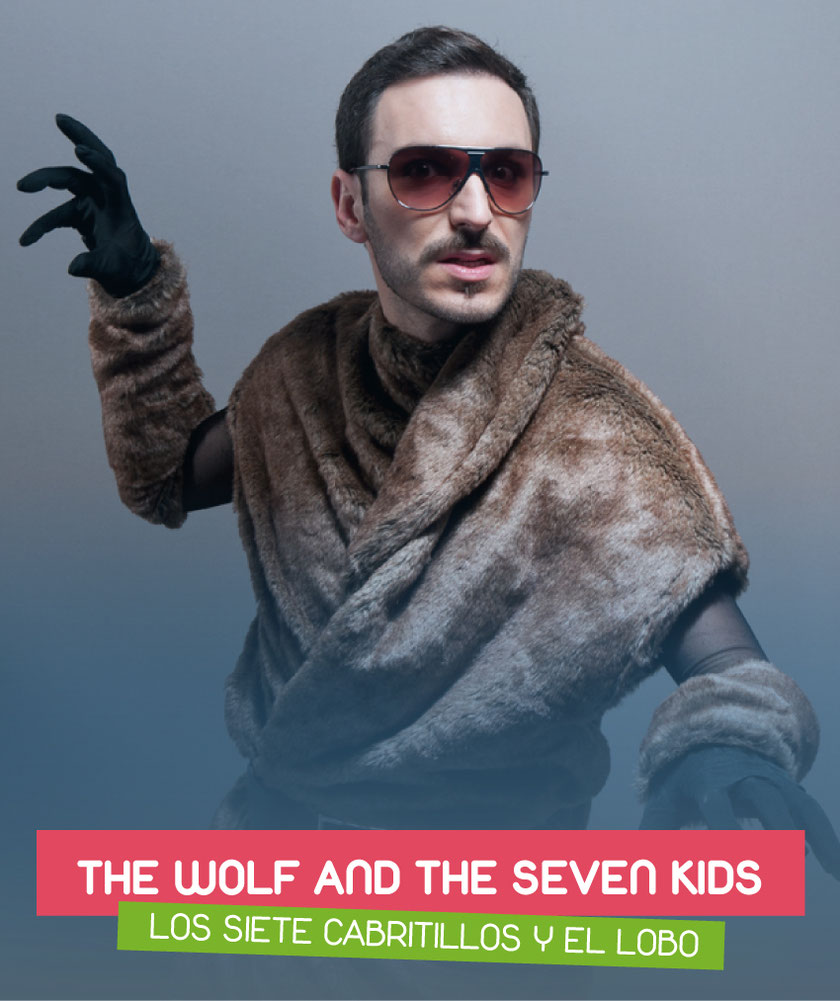 The wolf and the seven kids (Los siete cabritillos y el lobo) interpreted by Jon Mitó