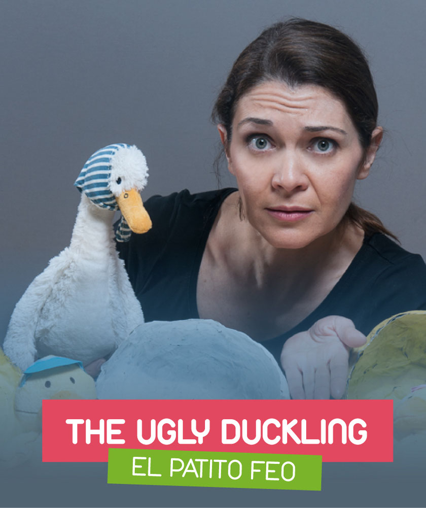 The ugly duckling (El patito feo) interpreted by Eva Torres