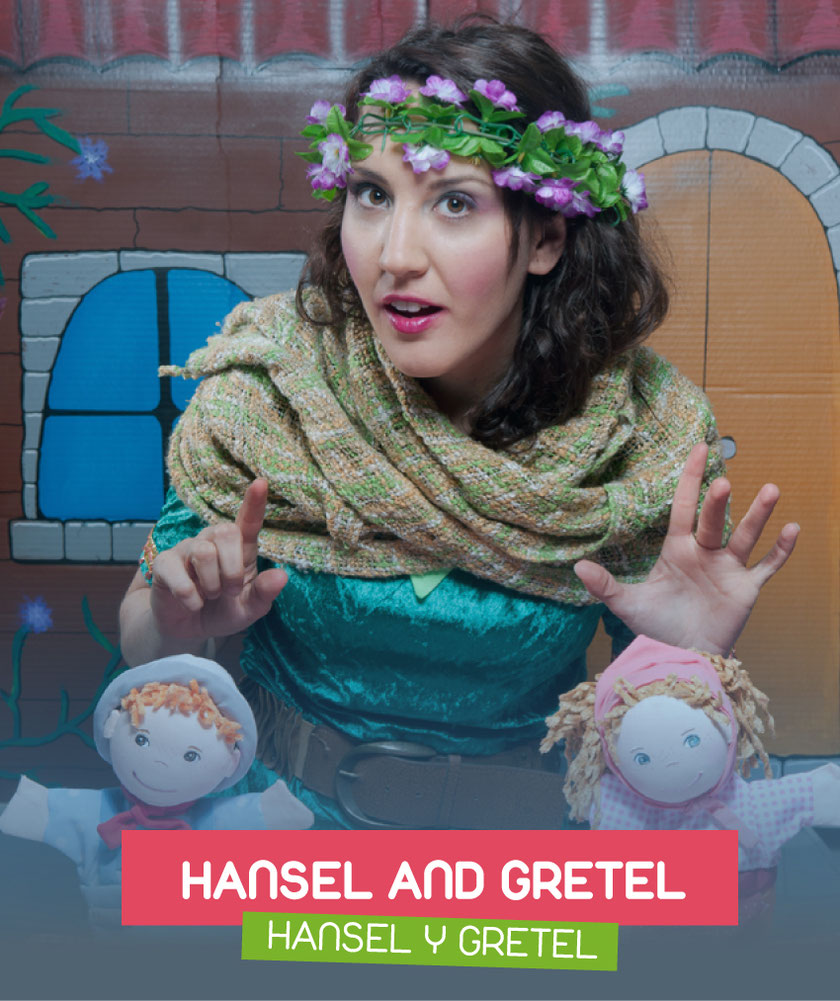 Hansel and Gretel (Hansel y Gretel) interpreted by Cristina Roma