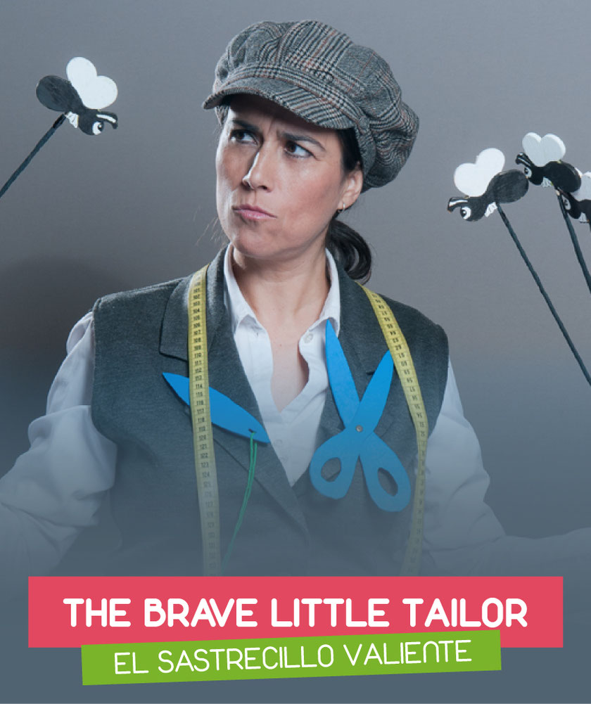 The brave little tailor (El sastrecillo valiente) interpreted by Eva G. Mataix