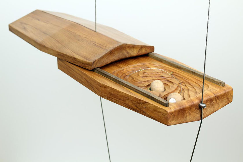 Rimu Cabinet by Tim Wigmore and Clay Cutter by Chris Weaver