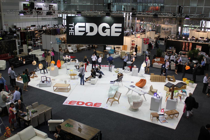 Overview of the Edge exhibition at the Sydney Conference Center