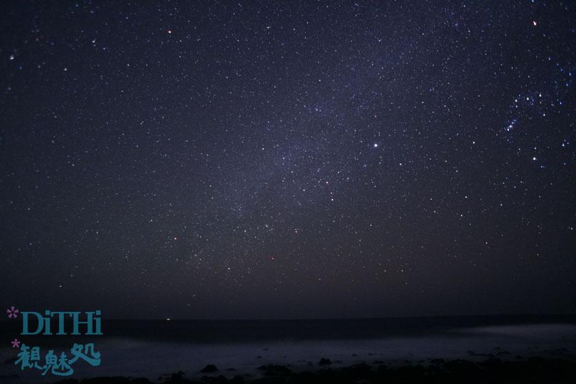 八丈島で星空撮影