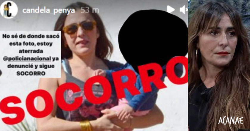 Anonimato en redes y ciberacoso: La actriz Candela Peña recibe amenazas de muerte dirigidas a su hijo.