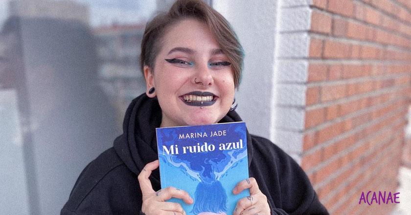 Marina Jade (OT 2017) habla del acoso que sufrió en la adolescencia en su libro Mi ruido azul