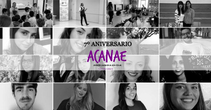 7º aniversario - Asociación Canaria No Al Acoso Escolar