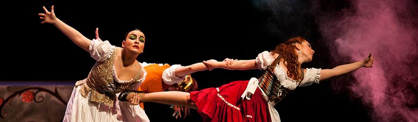 """""""La Cenicienta"""", un cuento de música y danza."""