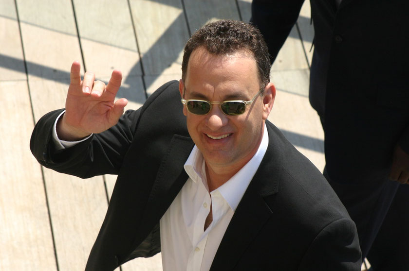 Tom HANKS - Festival de Cannes 2004 © Anik COUBLE
