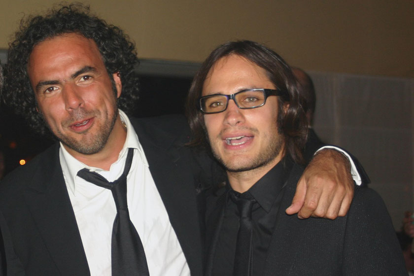 Gaël GARCIA BERNAL et Alejandro Gonzalez INARRITU - Festival de Cannes 2006 © Anik COUBLE