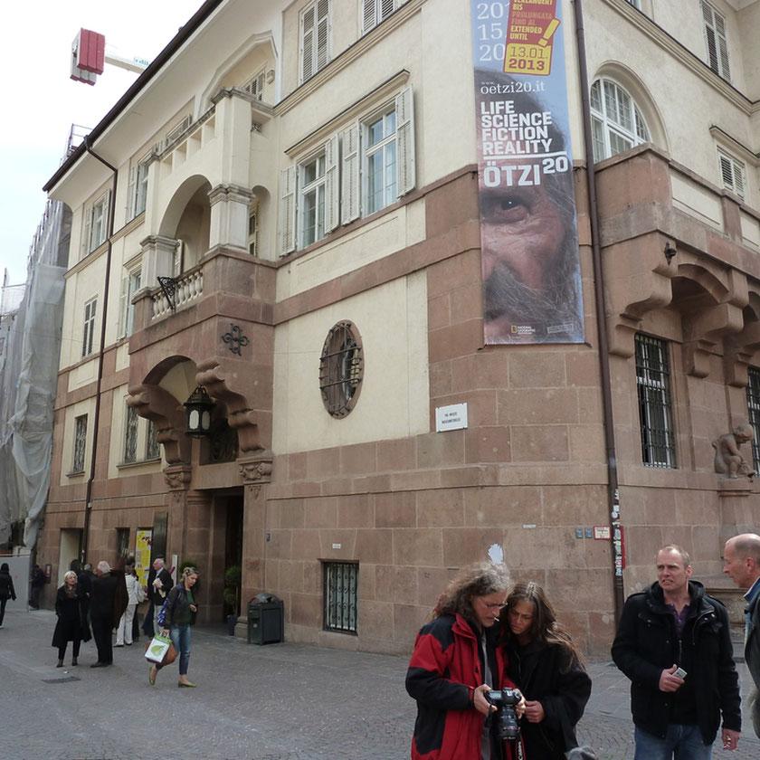 Ötzi Museum in Bozen