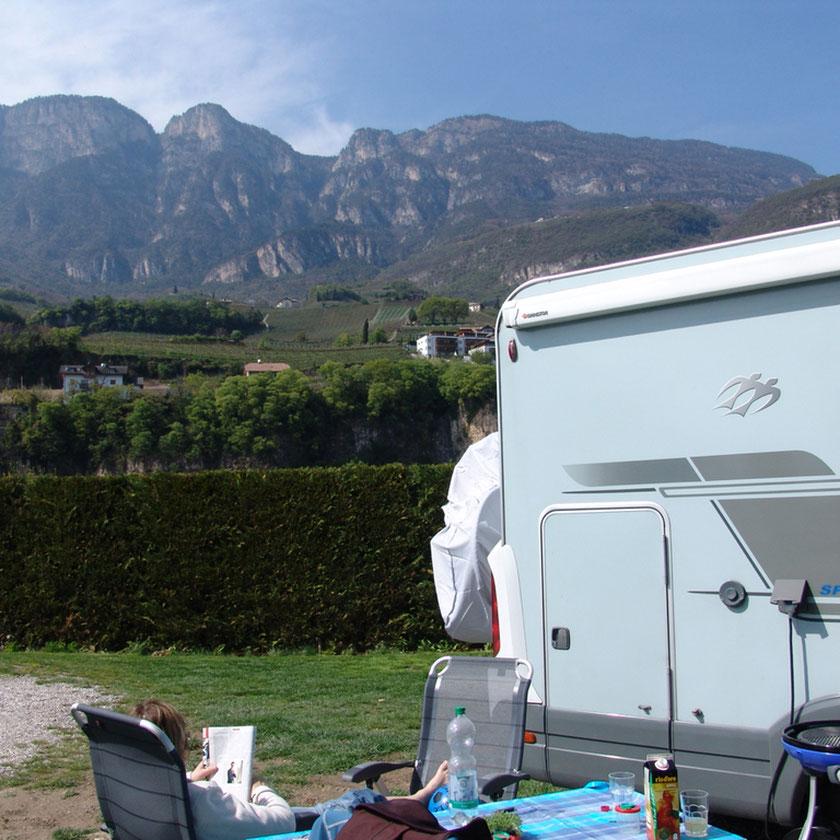Unser Campingplatz Obstgarten