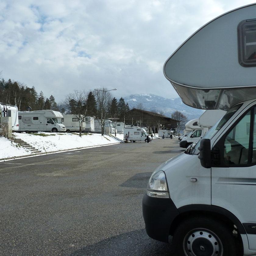 Stellplatz Alpencamp in Garmisch