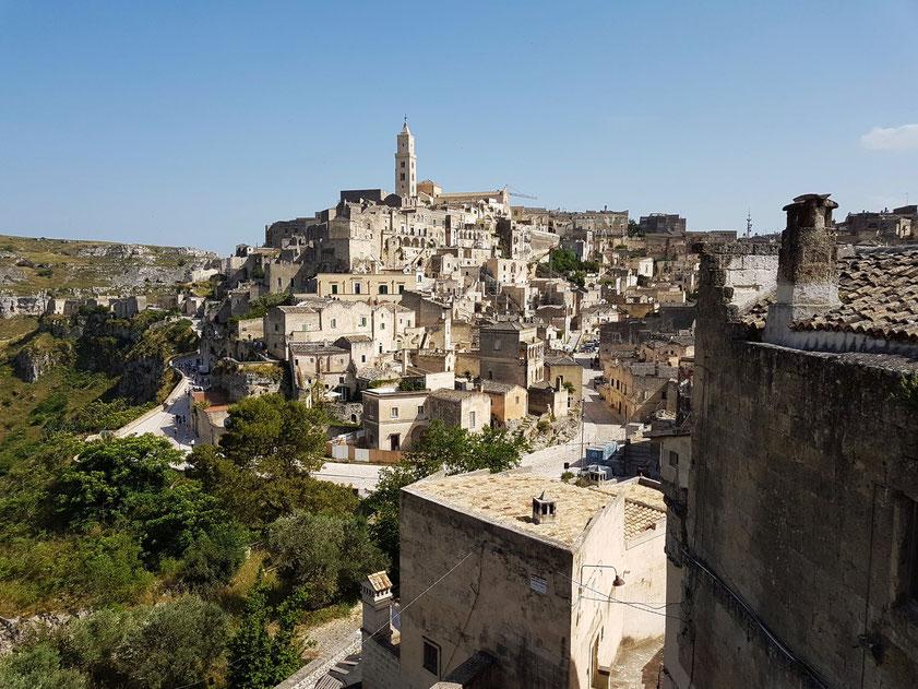 Matera. Blick vom Convento di Sant' Agostino