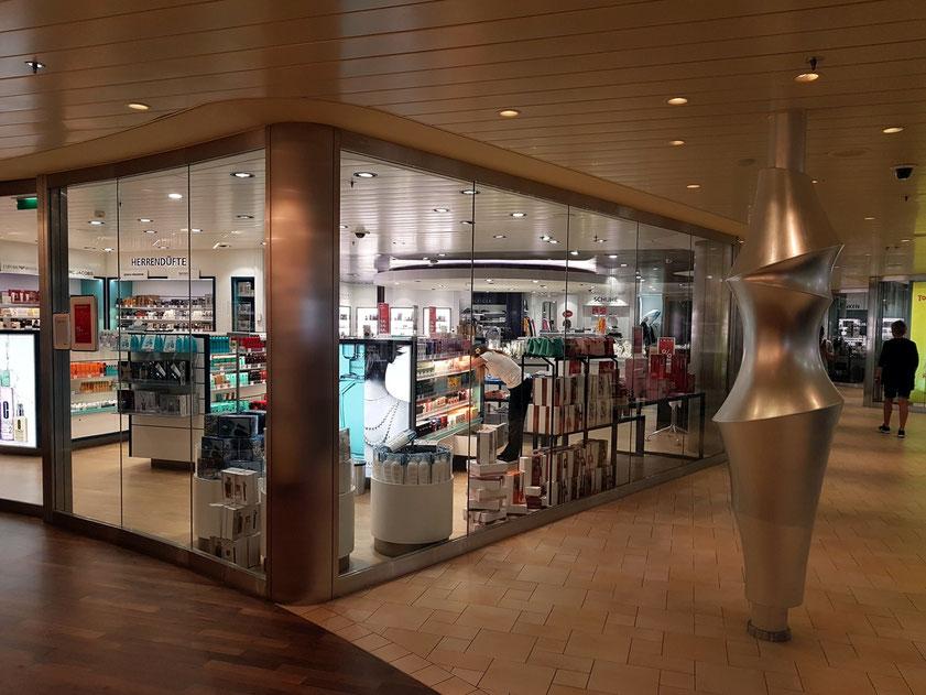 AIDA Shop auf Deck 9