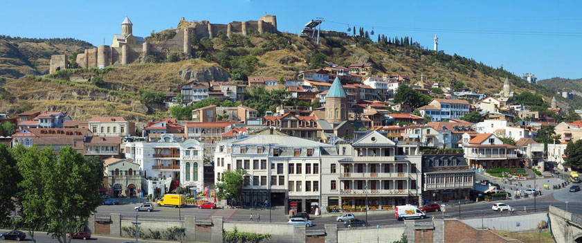 Tbilisi, Altstadt und Nariqala-Festung
