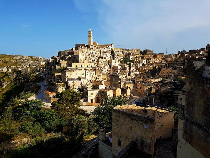 Matera in der Basilicata, Kulturhauptstadt Europas 2019
