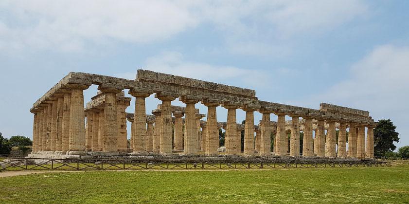 Paestum. Hera-Tempel (genannt auch Hera-Basilika)