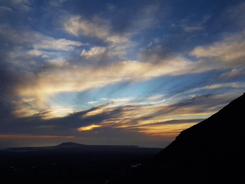 Sonnenuntergang bei Femés