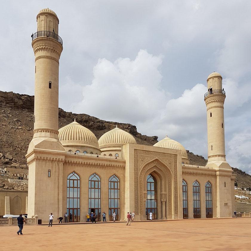 Die Moschee nach der Restaurierung im Jahr 2008