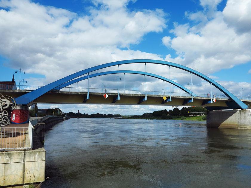 Stadtbrücke Frankfurt (Oder), Grenzbrücke zwischen Frankfurt und Słubice