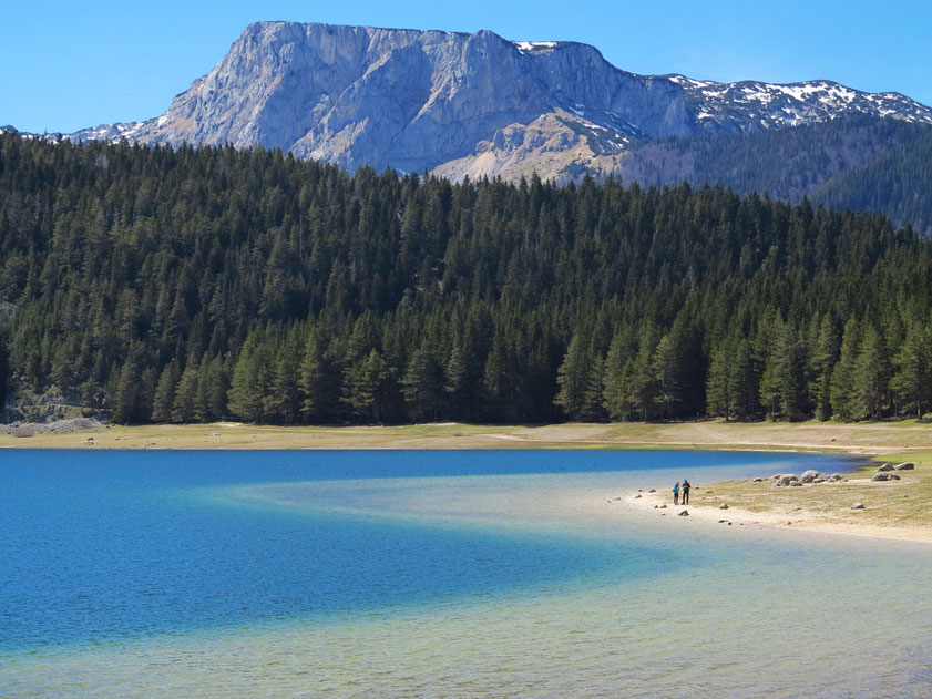 Crno Jezero im Durmitorgebirge