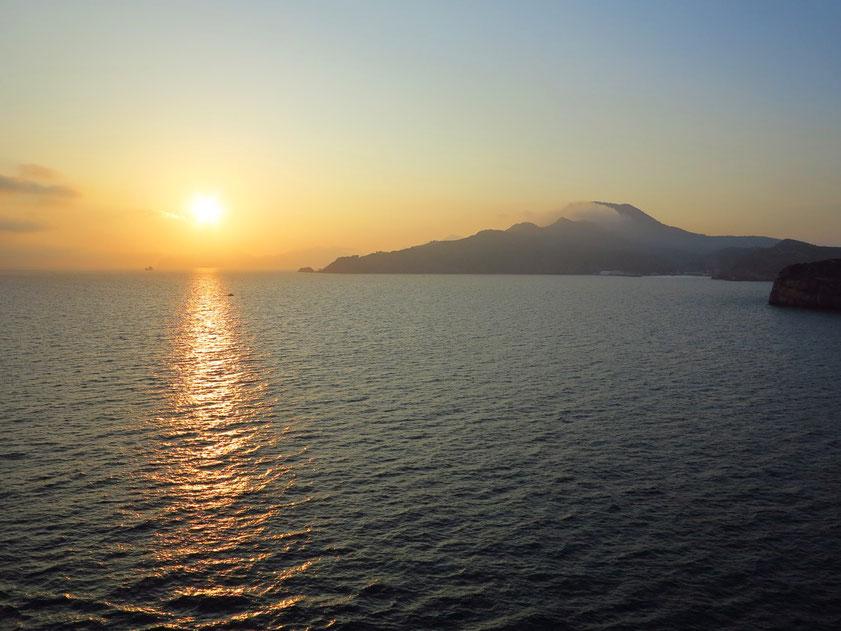 Sonnenuntergang vor Cartagena