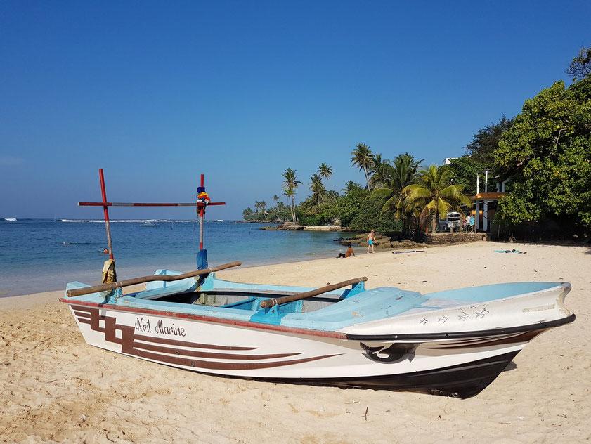 Polhena Beach am frühen Morgen