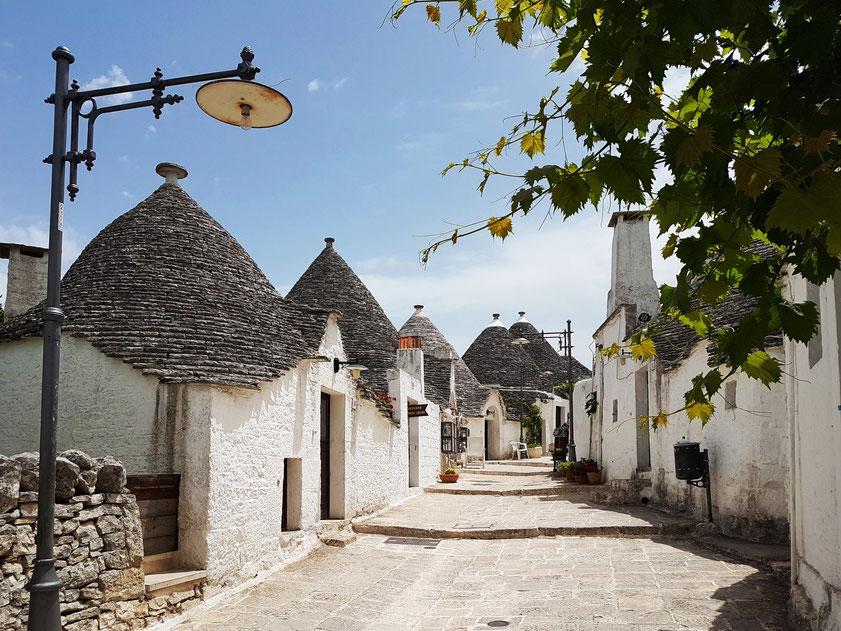 Trulli in Alberobello (Stadtviertel Monti)