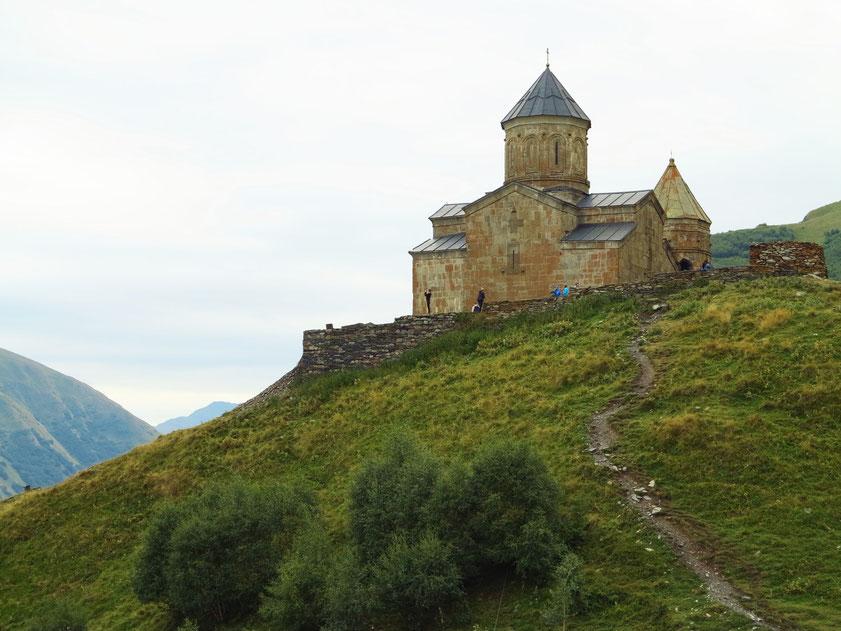 Gergetier Dreifaltigkeitskirche im Hohen Kaukasus