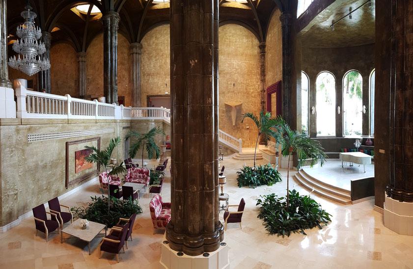Lopesan Villa del Conde Resort & Thalasso, monumentale Eingangshalle