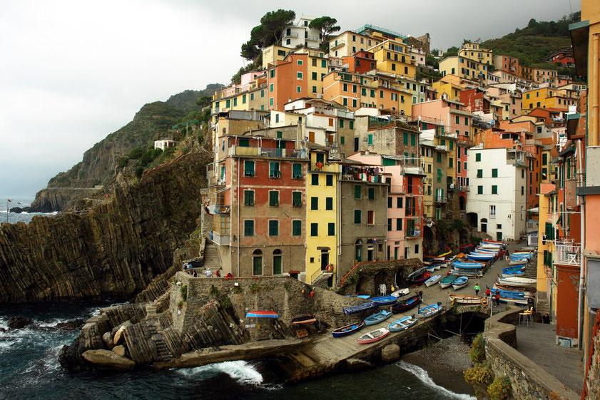 Riomaggiore, Cinque Terre, 3.10.2006