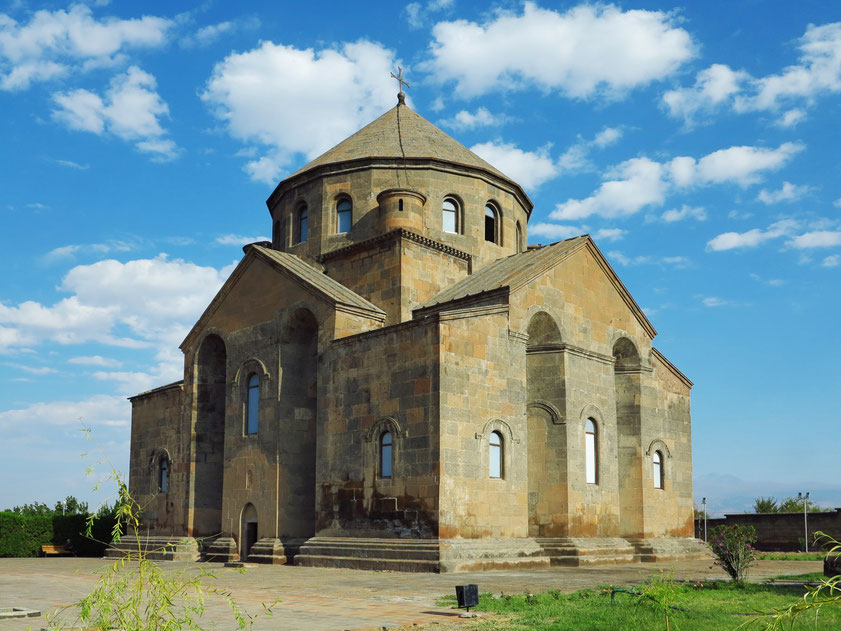 Kirche Hripsime  aus dem Jahr 618 westlich von Erewan