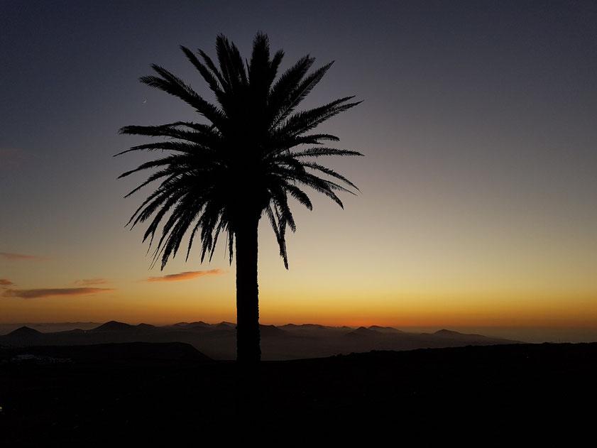 Nach Sonnenuntergang, Blick von der Ermita de las Nieves