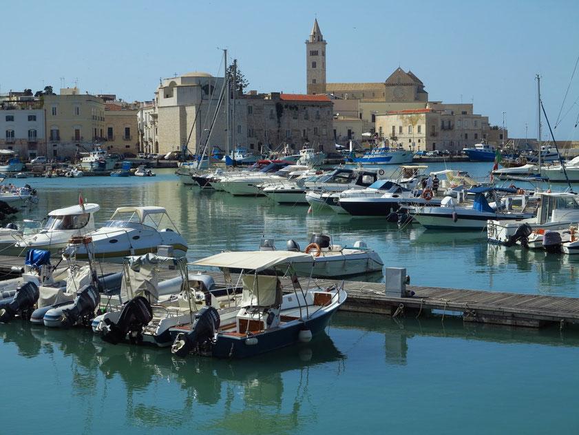 Trani, Hafen und Kathedrale