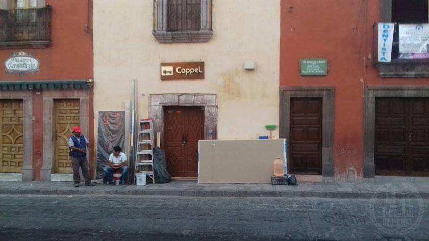 Trabajos de mantenimiento para uno de nuestros clientes en San Miguel de Allende, Gto.