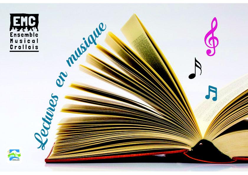 Ecole de musique à Crolles - Grésivaudan : Lectures en musique proposées par l'EMC et ses partenaires